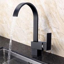 Design Schwenkbare Küchenarmatur Schwarz Küchen Wasserhahn Spültischarmatur