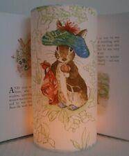 Beatrix Potter Benjamin Bunny Handmade Nursery Night Light