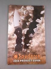 Spyderco USA Knives 2014 Knife Company Product Guide Catalog