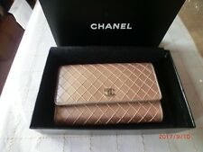 Authentic CHANEL CHANGE Wallet GOLD COLOR Serial #11282043