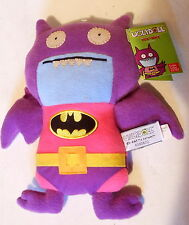 """DC Comics Ugly Doll Ice-Bat as Batman Plush Toy 11"""" Gund New with Tags (2013)"""