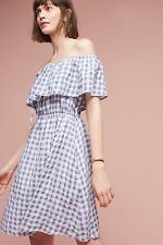 NWT Anthropologie Kinsey Off-The-Shoulder Dress Tylho /XS
