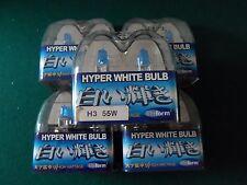 HALOGEN HEADLIGTHS BULB'S 20 pc h3 12v 55w XENON