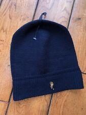 Ralph Lauren Hat $45 Navy NWT Wool Beanie Logo