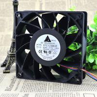 1pcs Delta FFC1248DE Double Ball Bearing Cooling Fan 120*120*38mm 48V 0.75A