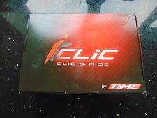 Time I-Clic Racer Pedals in White Clearance Purchase RRP £121.99