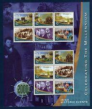 IRLANDE Ireland Eire 2000 Millennium Yv 1210/1215 (2x) Feuillet Cote 25€ MNH **
