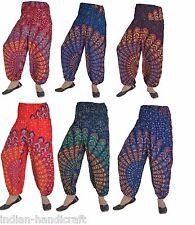 10 Rayon Mandala Boho Harem Balloon Trousers Gypsy Pants Wholesale TR63