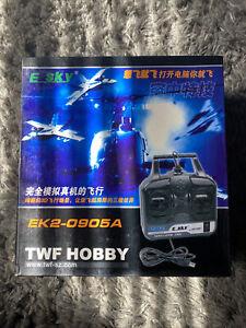 E Sky EK2-0905A TWF Hobby RC Plane Flight Simulator - NEW