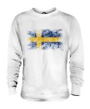 Sweden Bandera Apenada Unisex Suéter Sverige Fútbol Sueco Camisa Regalo