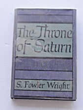 Arkham House The Throne Of Saturn HC/DJ First Edition