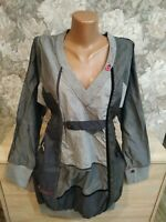 Desigual women's dress size 48 Gray color