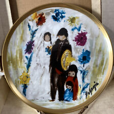 DeGrazia World of plates Collectors plates ~ WEDDING PARTY ~ Paperwork & Box