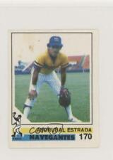 1988-89 Venezuelan Winter League Stickers Asdrubal Estrada #170