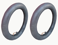 2 x INNER TUBE BENT VALVE PRAM BUGGY STOLLER FOR PHIL & TEDS & QUINNY BUZZ etc