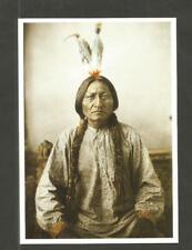POSTKARTE INDIAN  NATIVE INDIANER- AMERIKA HUNKPAPA SIOUX SITTING BULL CHIEF
