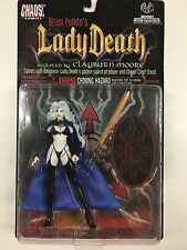 """LADY DEATH 12"""" ACTION FIGURE NEW MOORE ACTION COLLECTIBLES CHAOS COMICS - NEW"""