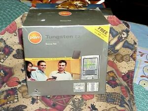 Palm Tungsten E2 Handheld PDA In Original Box never used