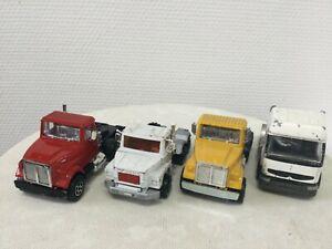 Lot de camions Majorette 1/60