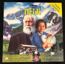 Disney's HEIDI Laserdisc LD [2242 AS]