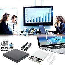 Neu Slim Extern USB DVD Brenner Combo Laufwerk DVD-ROM CD±RW für Laptop PC