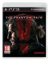 Metal Gear Solid V 5 The Phantom Pain PS3 Playstation 3 Brand New Sealed