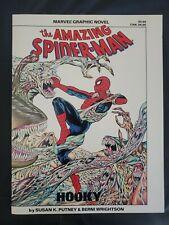 The AMAZING SPIDERMAN HOOKY Marvel Graphic Novel NM