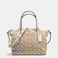 New COACH F57830 F27580 Mini Kelsey Satchel Signature Crossbody Shoulder Bag  CLK 9b9112fef06d1