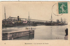 BORDEAUX 46 les entrepôts des docks timbrée