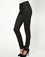 BNWT SELECTED ASOS LEATHER LOOK TROUSERS 28 10