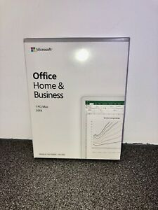 Microsoft Office 2019 Home and Business - Boxed - Windows PC - Retail