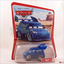 Disney Pixar Cars DJ blue tuner original desert scene 2005 12 back 12C A1 1L