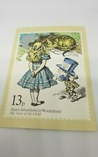 PHQ 37d Post Office Post Card. Alice In Wonderland . 1979