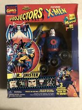 X-Men Projectors Mister Sinister 3 Different Film Disks Toy Biz Original Package