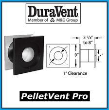 "DURAVENT PELLETVENT PRO Pipe 3"" Diameter Wall Thimble #3PVP-WT NEW!"