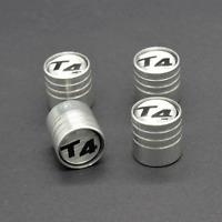 Set of 4 Aluminium Alloy Wheel Tyre Valve Dust Caps For T4 Transporter