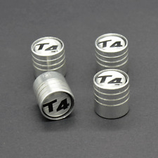 Set of 4 Aluminium Alloy Wheel Tyre Valve Dust Caps For VW T4 Transporter