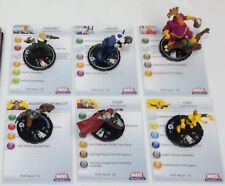 Heroclix Hammer of Thor set COMPLETE 6-figure Fast Forces lot w/cards!