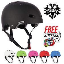 Bullet Safety Gear Skate/BMX/Scooter/Derby Deluxe Protection Helmet