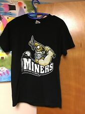 Southern Illinois Miners T-shirt Black Small 50/50 Frontier League Independent