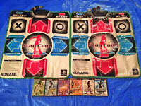 Playstation 2 Dance Dance Revolution Mats Pads DDR Max Extreme Supernova 1 2 PS2