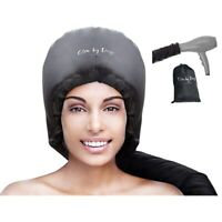 Hood Hair Dryer Attachment- Soft, Adjustable Extra Large Hooded Bonnet for Ha U8