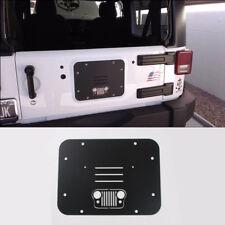 For 07+ Jeep Wrangler JK JKU Spare Tire Carrier Delete Filler Plate Tramp Stamp