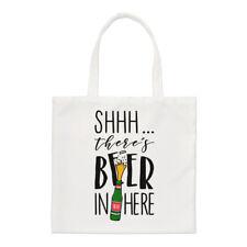 - Non giurare non c'è birra qui Small Tote Bag-Divertente Birra Ale A Tracolla