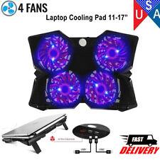 Laptop Cooling Pad Cooler Stand Coolpad Fan Mat External 14