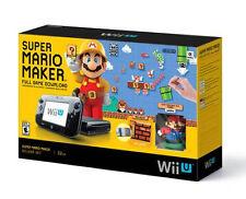 Nintendo Wii U Super Mario Maker Deluxe Set Console LN
