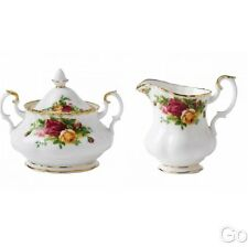 Royal Albert Old Country Roses Covered Sugar and Creamer New with tags