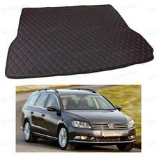 PU Leather Car Trunk Mat Cargo Pad Carpet for Volkswagen Passat Estate 2011-2017