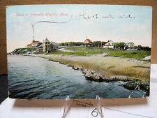 1907 Postcard Shore From Falmouth Heights Cape Cod Mass