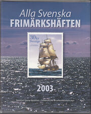 SWEDEN 2003 OFFICIAL BOOKLET YEARSET